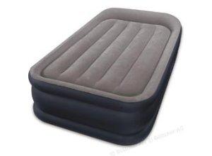 Luftbett Intex Deluxe Pillow Rest Raised Twin-Size, 191 x 99 x 42cm, mit Luftpumpe, selbstaufblasend