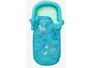 VERTBAUDET Kinder Schlafsack mit Luftmatratze ´´Ritter´´ grün/ritter