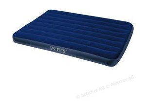 Luftbett Intex Classic Downy Airbed, Queen-Size, 203 x 152 x 22cm