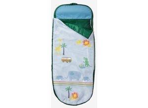 VERTBAUDET Kinderschlafsack mit Luftmatratze ´´safari´´ mehrfarbig bedruckt safari