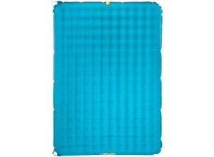 UQUIP Betty Double - Luftmatratze - Gr. 200x140 x 15 - grün / blau|gelb - 200 x 140 cm