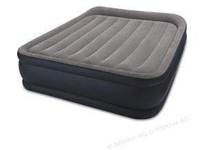 Luftbett Intex Deluxe Pillow Rest Raised, Queen, 203 x 152 x 42cm, mit Luftpumpe, selbstaufblasend