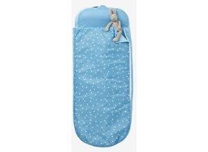 VERTBAUDET Kinderschlafsack mit Luftmatratze ´´Sterne´´ blaugrau
