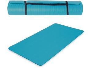 Yogamatte aus Schaumstoff 180 x 60 x 1,5 cm blau von TecTake