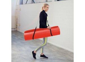 Yogamatte aus Schaumstoff 180 x 60 x 1,5 cm rot von TecTake