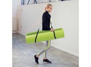 Yogamatte aus Schaumstoff 180 x 60 x 1,5 cm grün von TecTake
