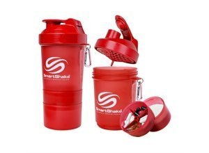 SmartShake Original 600ml - 1 stuk - Red - SmartShake