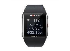 Polar V800 GPS Sportuhr ohne HR Sensor Unisex Laufzubehör schwarz