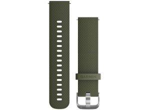 Garmin Schnellwechsel-Armband 20mm - moosgrün Unisex Laufzubehör grün