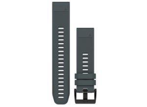 Garmin Schnellwechsel-Armband 22mm - grau Unisex Laufzubehör grau