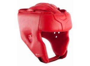 Kopfschutz Boxen Erwachsene rot