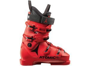 ATOMIC Kinder Skischuh Redster Club Sport 70 LC rot | 24-24,5=38-39