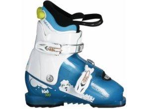 Skischuhe Kid 500 Pumzi Kinder weiß/blau