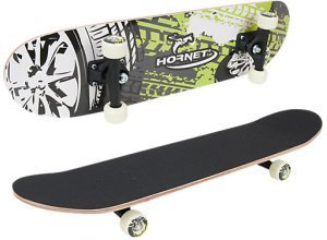 Hornet Skateboard ABEC 1 grün