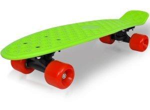 vidaXL Retro-Skateboard mit grünem Deck und roten Rollen 6,1´´