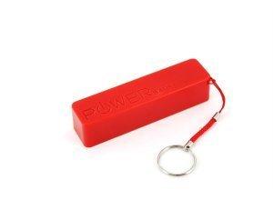 XLayer Zusatzakku »Powerbank Colour Line Rot 2600mAh Smartphones/Tabl«, rot