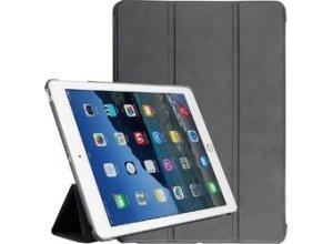 Liamoo Tablet-Hülle Smart Cover, 9,7 Zoll, für Apple iPad 2017, schwarz
