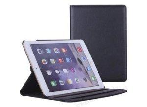 Liamoo Tablet-Hülle Cover 360 Grad, 9,7 Zoll, für Apple iPad 2017, schwarz