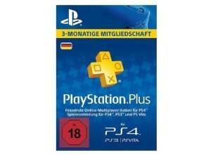 Sony PS4 PlayStation Plus Live Card - 90 Tage