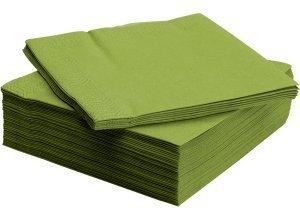 FANTASTISK, Papierserviette, mittelgrün