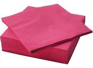 FANTASTISK, Papierserviette, pink
