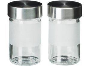 DROPPAR, Gewürzglas, Frostglas/Edelstahl