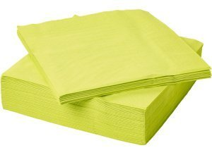 FANTASTISK, Papierserviette, hellgrün