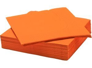 FANTASTISK, Papierserviette, orange