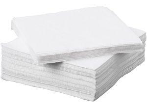 FANTASTISK, Papierserviette, weiß