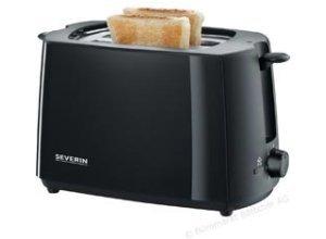 Severin Toaster AT 2287, 2 Scheiben, 700 Watt, Kunststoffgehäuse, schwarz