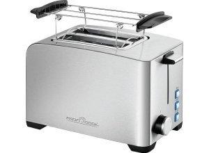 PROFI COOK Toaster PC-TA 1082, für 2 Scheiben, 800 W, grau