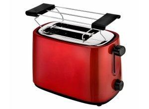 efbe-Schott Toaster SC TO 1060 Edelstahl metallic-rot