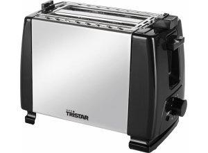 Tristar Toaster BR-1043, 2 kurze Schlitze, für 2 Scheiben, 700 W, silberfarben