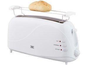 KHG Langschlitz-Toaster TO-1003LS (W) - weiß - Kunststoff, Metall - 41 cm - 19,3 cm - 12,5 cm - Sconto