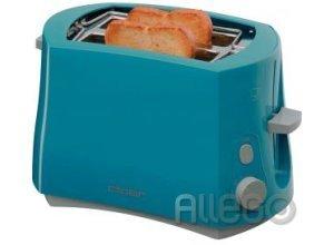 Cloer Toaster 3317-3 blau 2-Schlitz-Toaster, 825 WattCloer Toaster 3317-3 blau 2