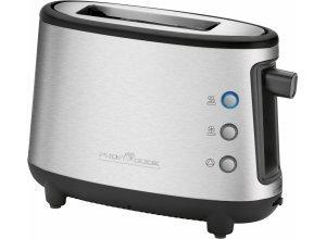 PROFI COOK Toaster PC-TA 1122, für 1 Scheibe, 600 W, silberfarben