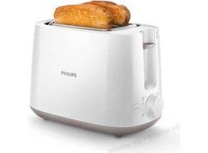 Philips Toaster Daily Collection HD2581/00, 2 Scheiben, 830 Watt, Kunststoffgehäuse, weiß