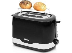 Tristar Toaster BR-1042, mit Edelstahlakzenten, 850 Watt, schwarz