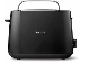 Philips Toaster HD2581/90, 830 W, 2 Toastkammern, schwarz