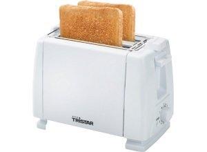 Tristar Toaster BR-1009, 2 kurze Schlitze, für 2 Scheiben, 650 W, weiß