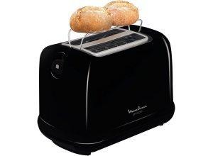 Moulinex Toaster LT1618, für 2 Scheiben, 850 W, schwarz