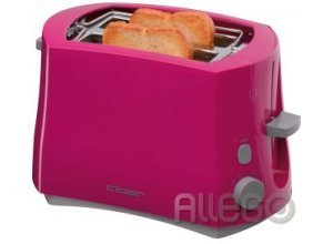 Cloer 3317-1 Toaster pink Pop up your Kitchen