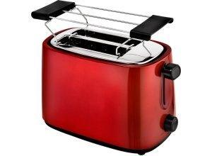 Efbe-Schott Toaster SC TO 1060 R, für 2 Scheiben, 750 W, rot