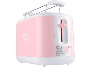 bestron Toaster ATS300EVP, für 2 Scheiben, 930 W, rosa