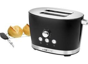 CLATRONIC Toaster Clatronic TA 3690, 2 kurze Schlitze, 850 W, schwarz