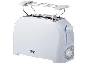 KHG Toaster TO-755 (W) - weiß - Kunststoff - 14,8 cm - 27 cm - 17,5 cm - Sconto