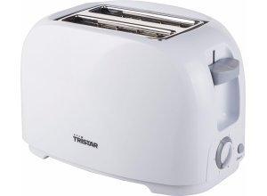 Tristar Toaster BR-1013, 2 kurze Schlitze, für 2 Scheiben, 800 W, weiß