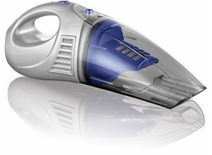 CLEANmaxx Akku-Handstaubsauger 2in1 4,8V blau/silber, 30 Watt, beutellos, blau