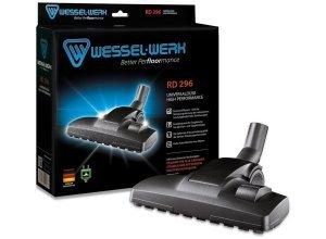 Wessel-Werk Premium Universal-Staubsaugerdüse RD 296, Universaladapter, schwarz