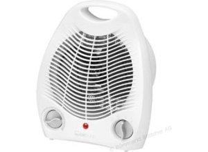 Clatronic HL 3378 Heizlüfter mit Thermostat 2000 Watt weiß